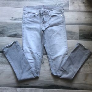 7 For All Mankind Gray Roxanne Jeans